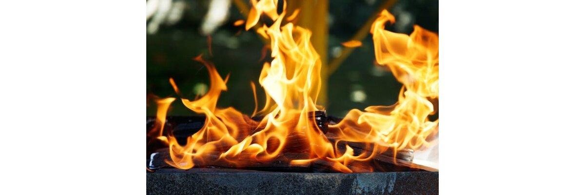 Die Feuerschale - welches ist das richtige Brennmaterial? - Das richtige Brennmaterial für eine Feuerschale