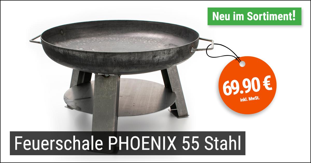 Feuerschale Phoenix 55 Stahl